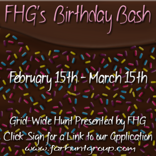 fhg birthday bash hunt - blog